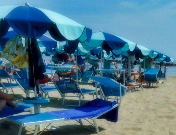 Hotel Alga 3 Stelle Bellaria - Spiaggia