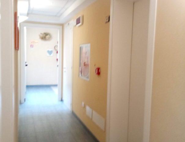 Hotel Alga 3 Stelle Bellaria - Corridoio
