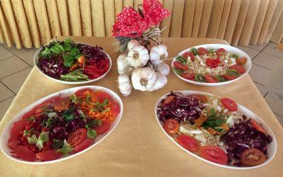Hotel Alga 3 Stelle Bellaria - Buffet Verdure